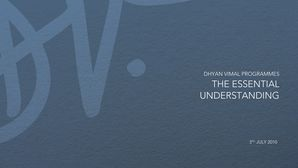 The Essential Understanding preview
